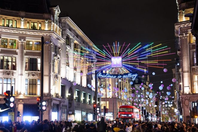 Oxford Street Christmas Lights, London