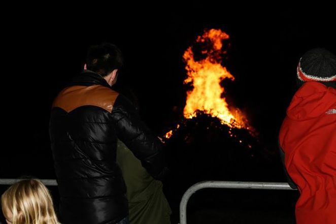 Richmond Athletic Association bonfire event