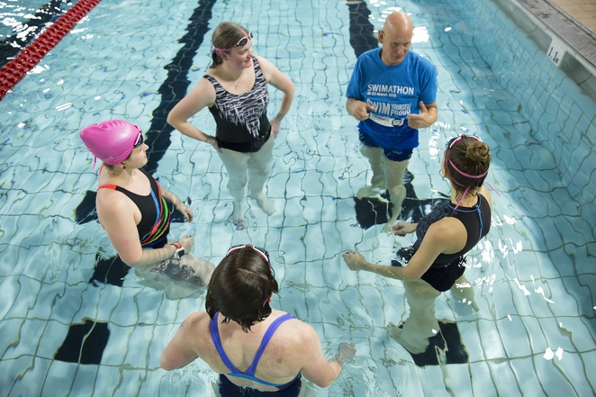 Swimathon, Duncan Goodhew