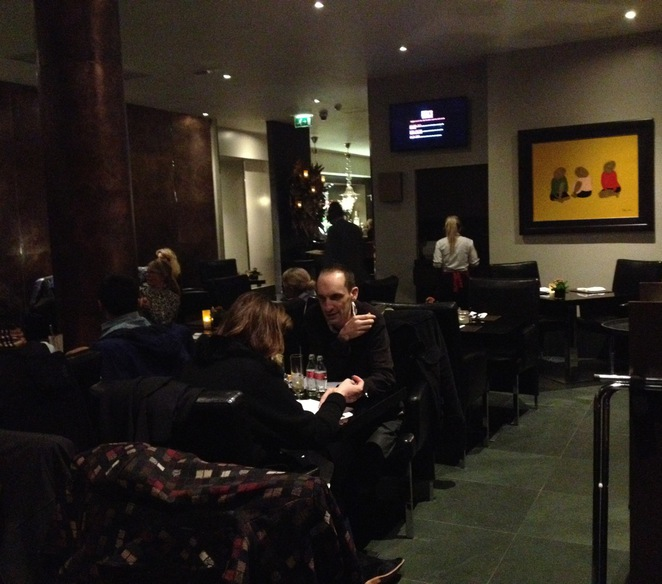 The Restaurant area, Steak and Lobster, Bloomsbury