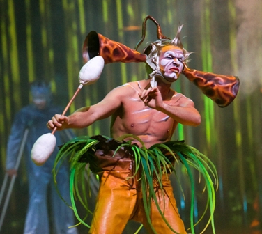 Varekai, UK Tour, Cirque du Soleil, London