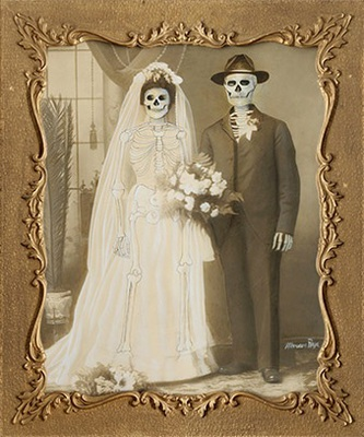 Wedding Portrait by Marcos Raya