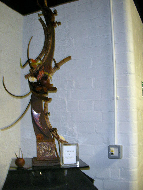 chocolate unwrapped, chocolate festival, chocolate sculpture