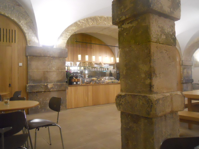 christ church spitalfields, cafe in the crypt