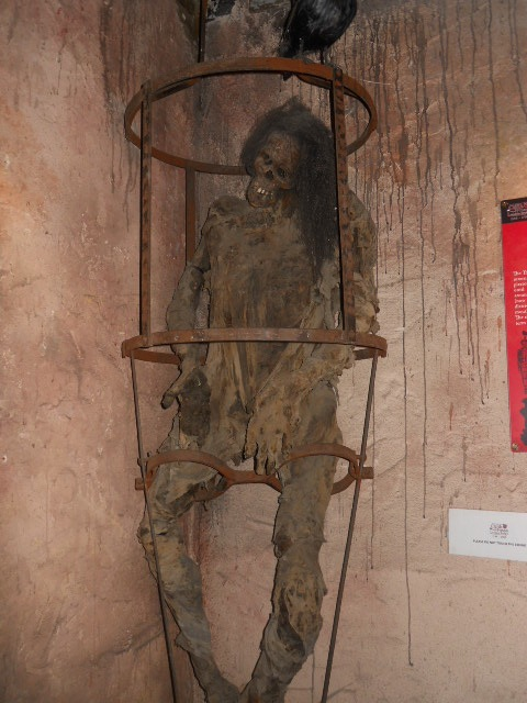 clink prison museum, gibbet