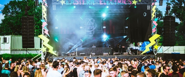 eastern electrics, stage, party, DJ, dance