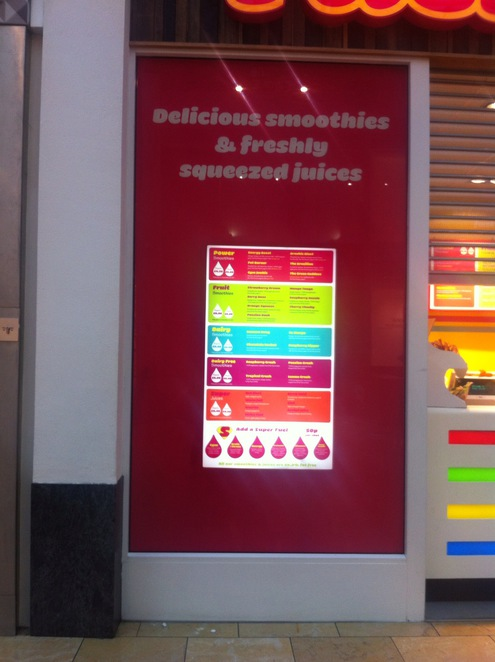 Fuel,smoothie,smoothies, juices, The Bullring