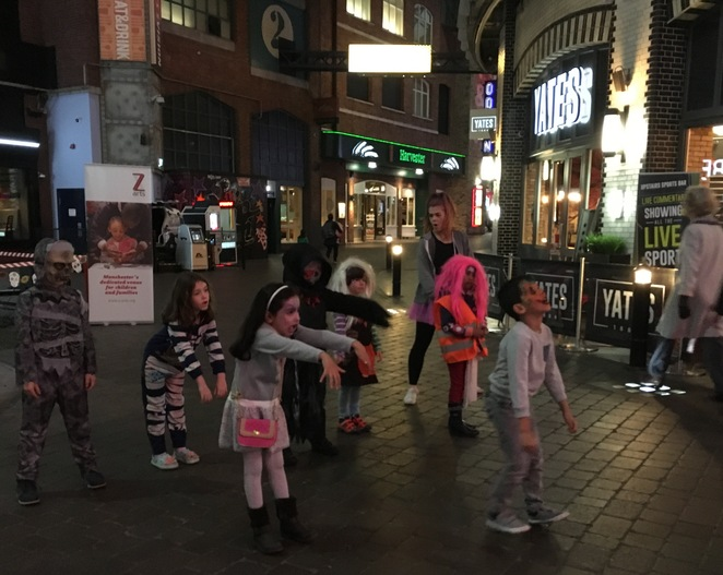 Halloween in the CIty, Manchester, Halloween Family Fun, Spooky Fun