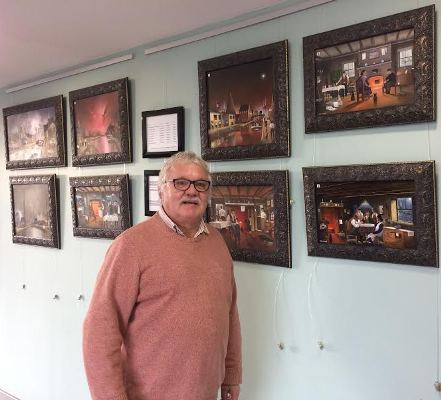 Ken Wood, Dudley Canal and Tunnel Trust, Portal Building, Art Exhibition, Black Country