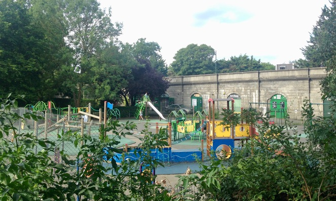 Kew Bridge children's park
