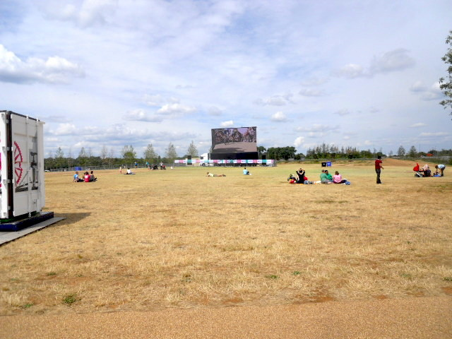 queen elizabeth olympic park, alfred's meadow, hopkins field, tour de france