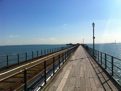 southend pier, pier, pleasure pier, longest pier, southend-on-sea pier