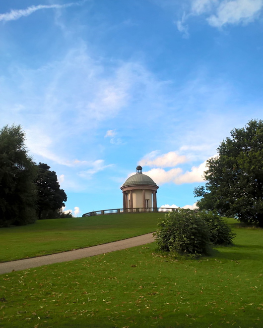 bell tower, parks, heaton park