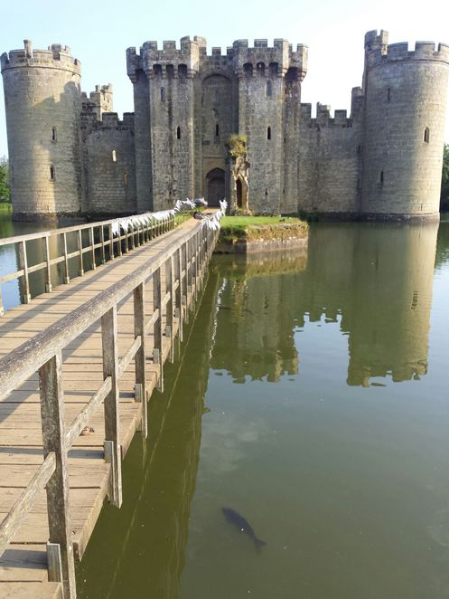 bodiam castle, bodiam, castles, high weald, area of outstanding natural beauty, castles uk, wedding venues, sussex, sussex castle, 14th century castle, moat, moat castle, scenery, beautiful castle, english countryside, countryside, architecture, medieval, medieval castle, england castle, drawbridge, drawbridge castle, bridge, bridge castle, koi carp, carp, koi