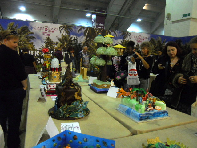 cake & bake show, exotic adventures, competition, bbc good food cakes & bakes