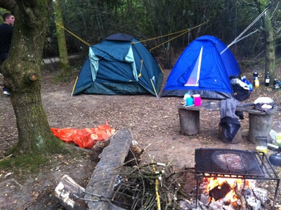 camping, camping woods, campsite woods, blackberry woods campsite, camping