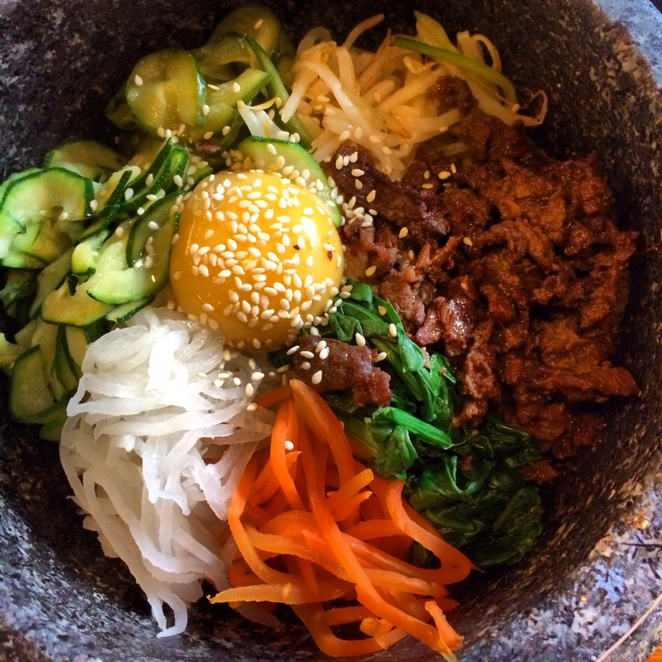 kimchee london, bibimbap, korean food, cheap korean food, holborn korean,
