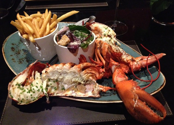Lobster, Steak and Lobster Restaurant, Bloomsbury