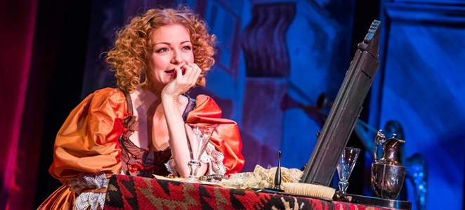 nell gwynn, shakespeare's globe, uk tour review