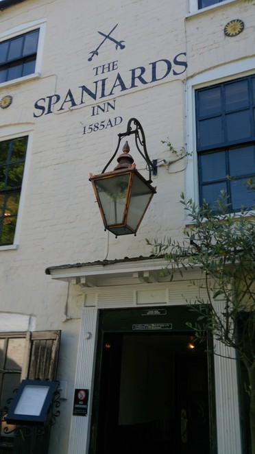 Spaniards Inn, Hampstead Heath