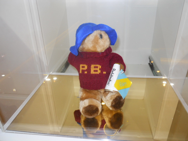 the paddington curiosity shop, selfridges, paddington trail, paddington bear, eden toys