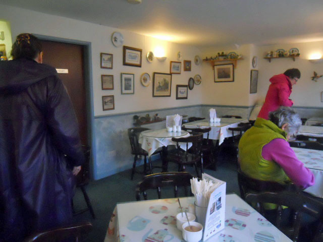 cartmel, the mallard tea shop