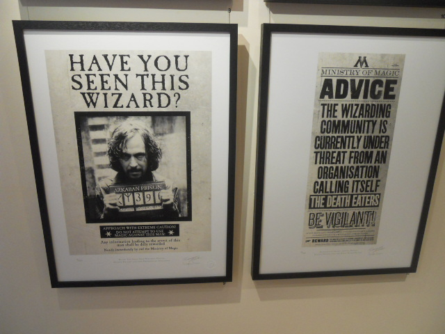 coningsby gallery, harry potter, minalima