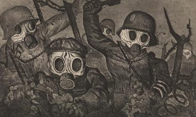 Death A Self Portrait Wellcome Collection Otto Dix Shock Troops Advance Under Gas Richard Harris Collection