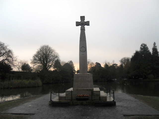 grange over sands, grange, oriental gardens, war memorial
