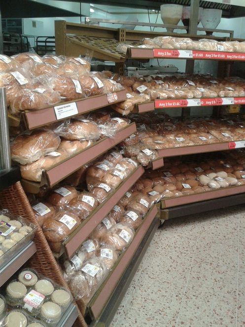 Morrisons, bakery, bread,