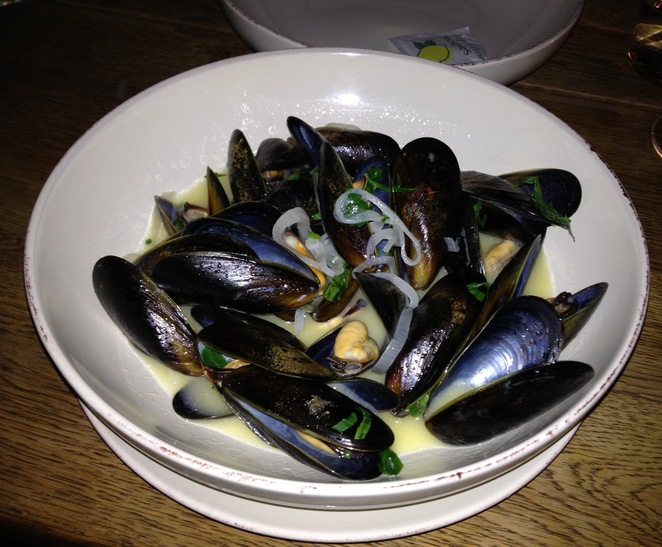 Mussels, Terroirs Wine Bar