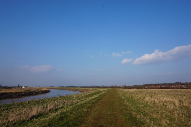 The fens, fenways, river Ouse, Norfolk, Downham market, walking, english countryside, rivers, water, fens,
