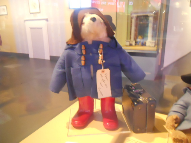 a bear called paddington, museum of london, gabrielle designs