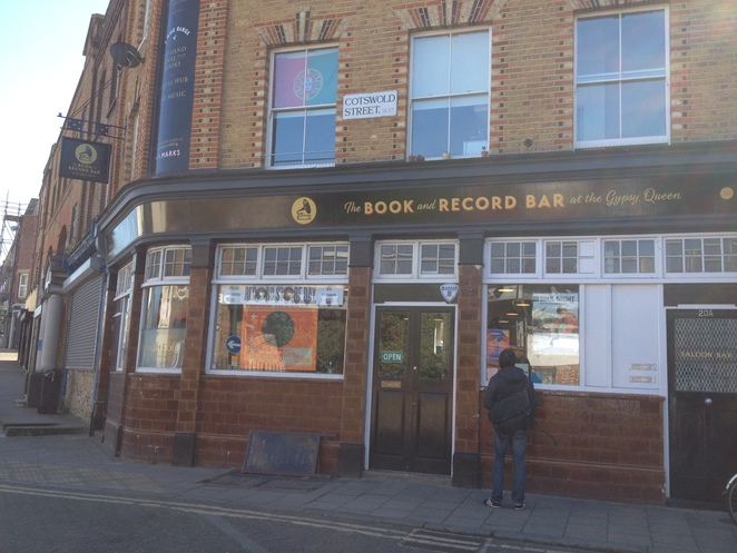 book and record bar