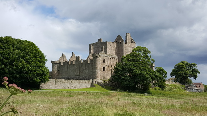 Craigmillar, castle, medieval, Edinburgh, Historic Scotland