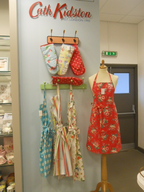 elys, cook & dine relaunch, cath kidston, apron