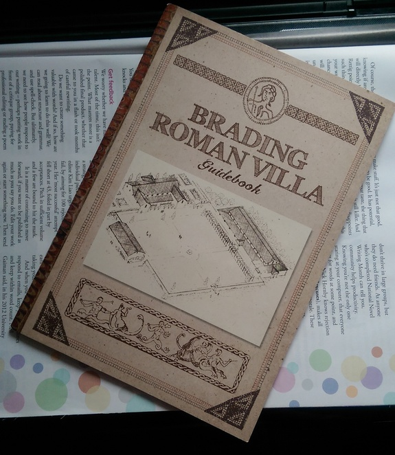 guide book brading roman villa isle of wight