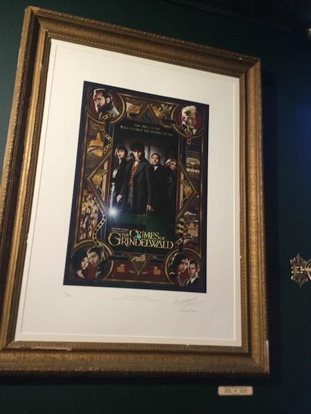 house of MinaLima, gallery, limited edition print. fantastic beasts, crimes of Grindelwald
