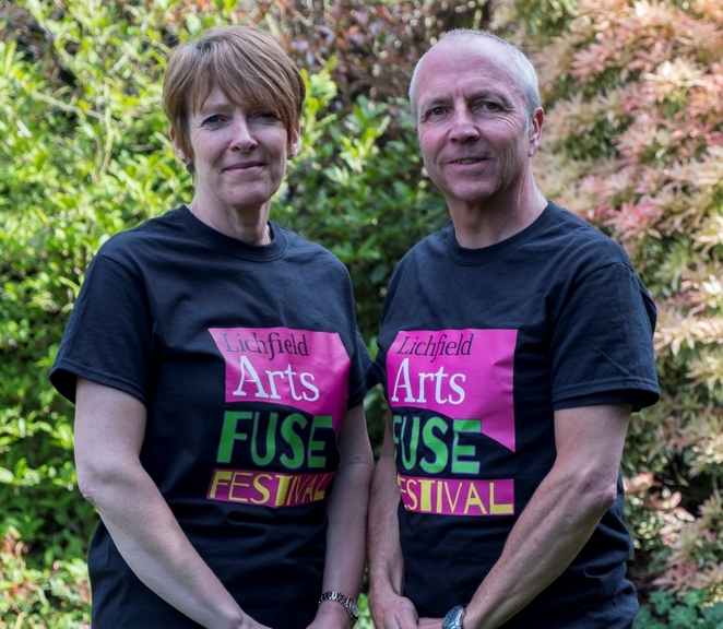 Lichfield Arts Fuse Festival, Phil and Pam Beale