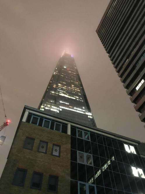 Shard London Tower City Building Architecture Attraction Tourist