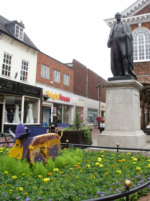 Tamworth Two, Trotters Trail, Sandyback pigs, Robert Peel, The Peel Society