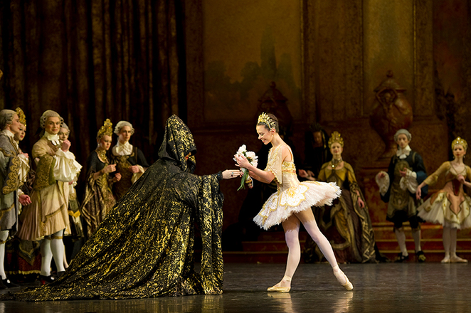 the sleeping beauty, sleeping beauty ballet, mayflower theatre, birmingham royal ballet