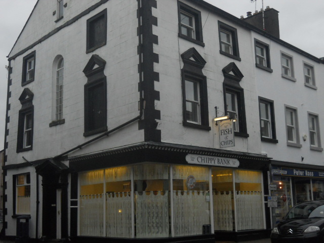 ulverston, town centre, chippy bank, fish & chips, fish & chips restaurant