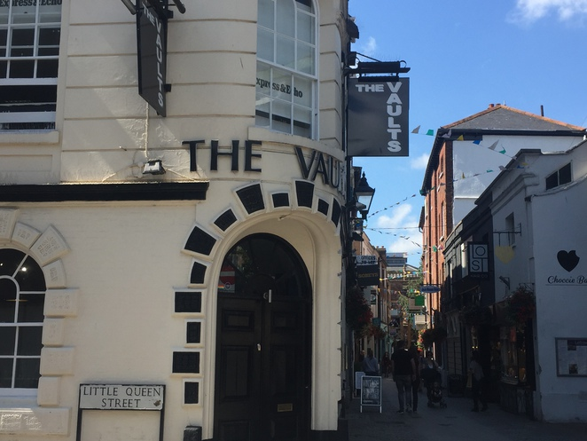 Vaults, Gringotts, Harry Potter, J.K Rowling, Exeter, Gandy Street