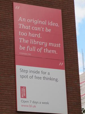 British Library idea Camden London