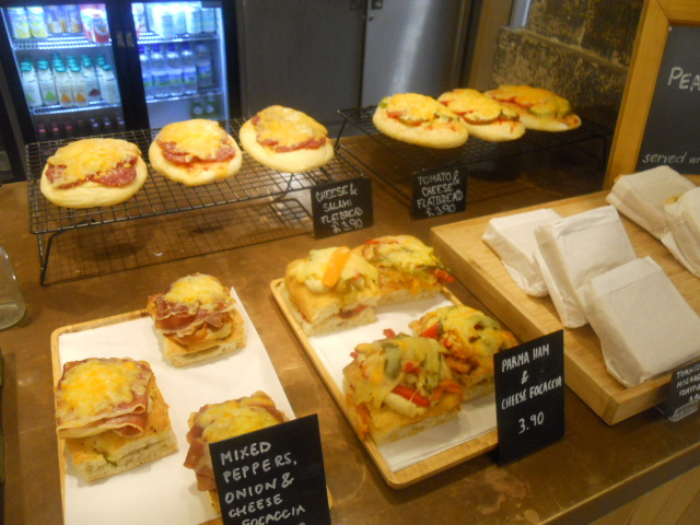 christ church spitalfields, cafe in the crypt, focaccia, sandwiches, toasties