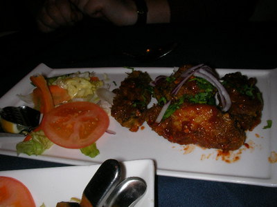 chutneys, indian restaurant, chicken wings