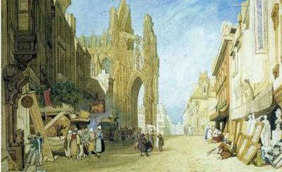 cotman's normandy, dulwich picture gallery