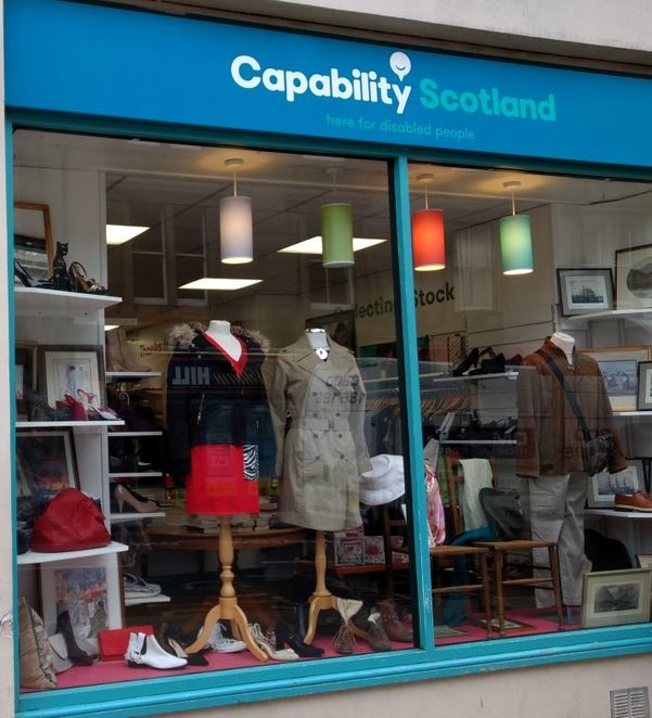 Edinburgh charity shops, charity shopping