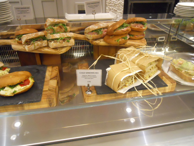elys, cook & dine relaunch, cafe, sandwiches
